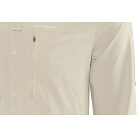 Craghoppers NosiLife Pro III Long Sleeved Shirt Herre parchment